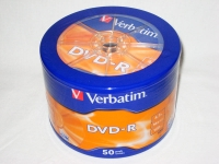 Verbatim DVD-R 4.7Gb 16x Shrink Case 50 шт.