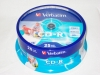 Verbatim CD-R  700Mb 52x  AZO  Printable Cake Box 25 шт.